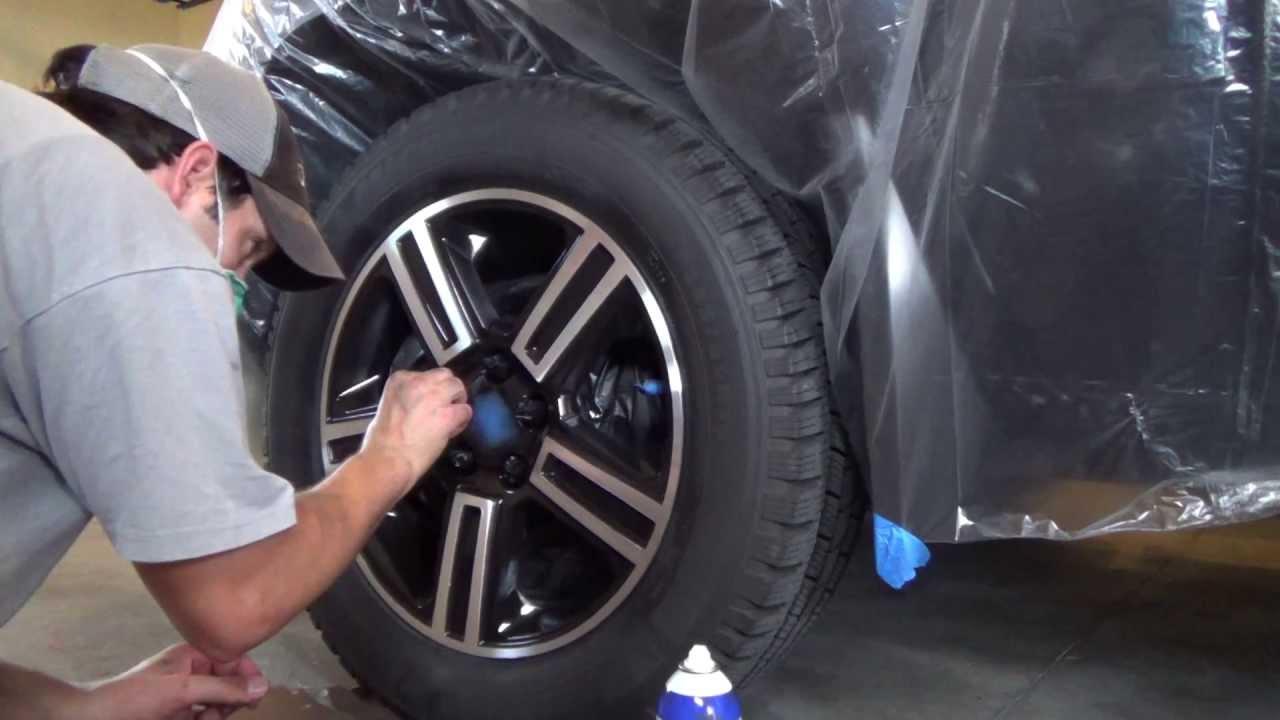 Strip Paint Off Car Wheels