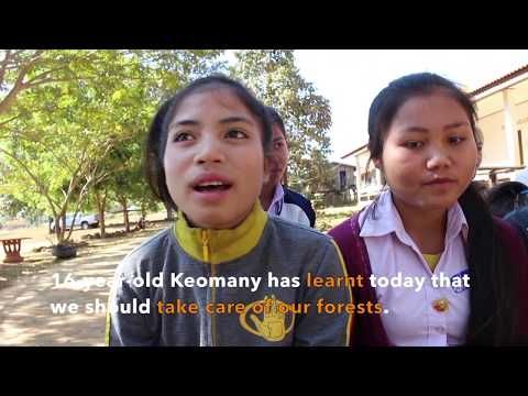 Sekong Community Radio inspires awareness for environment