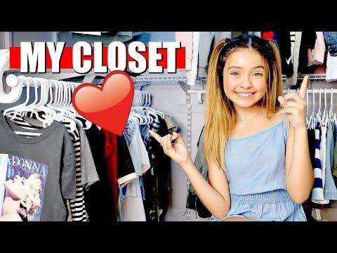 My Closet TOUR ❤️ Teen Girl Clothes n Stuff