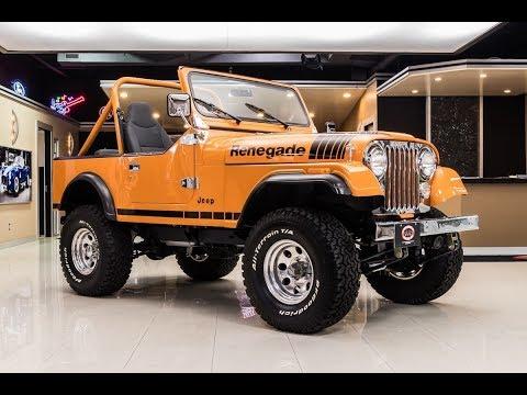 1977 Jeep CJ7 For Sale Redo