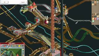 Rollercoaster Tycoon Loopy Lanscapes #89 (Dragon