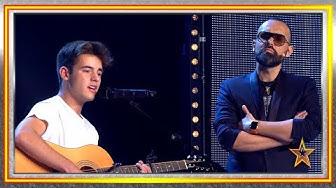 Risto Mejide le ayuda a luchar contra su PÁNICO ESCÉNICO   Audiciones 8   Got Talent España 2019