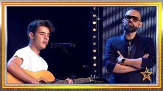 Risto Mejide le ayuda a luchar contra su PÁNICO ESCÉNICO | Audiciones 8 | Got Talent España 2019