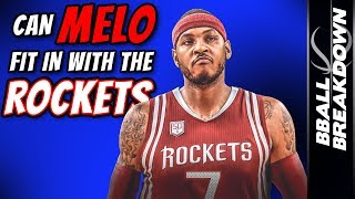 Can MELO Fit In With The ROCKETS?