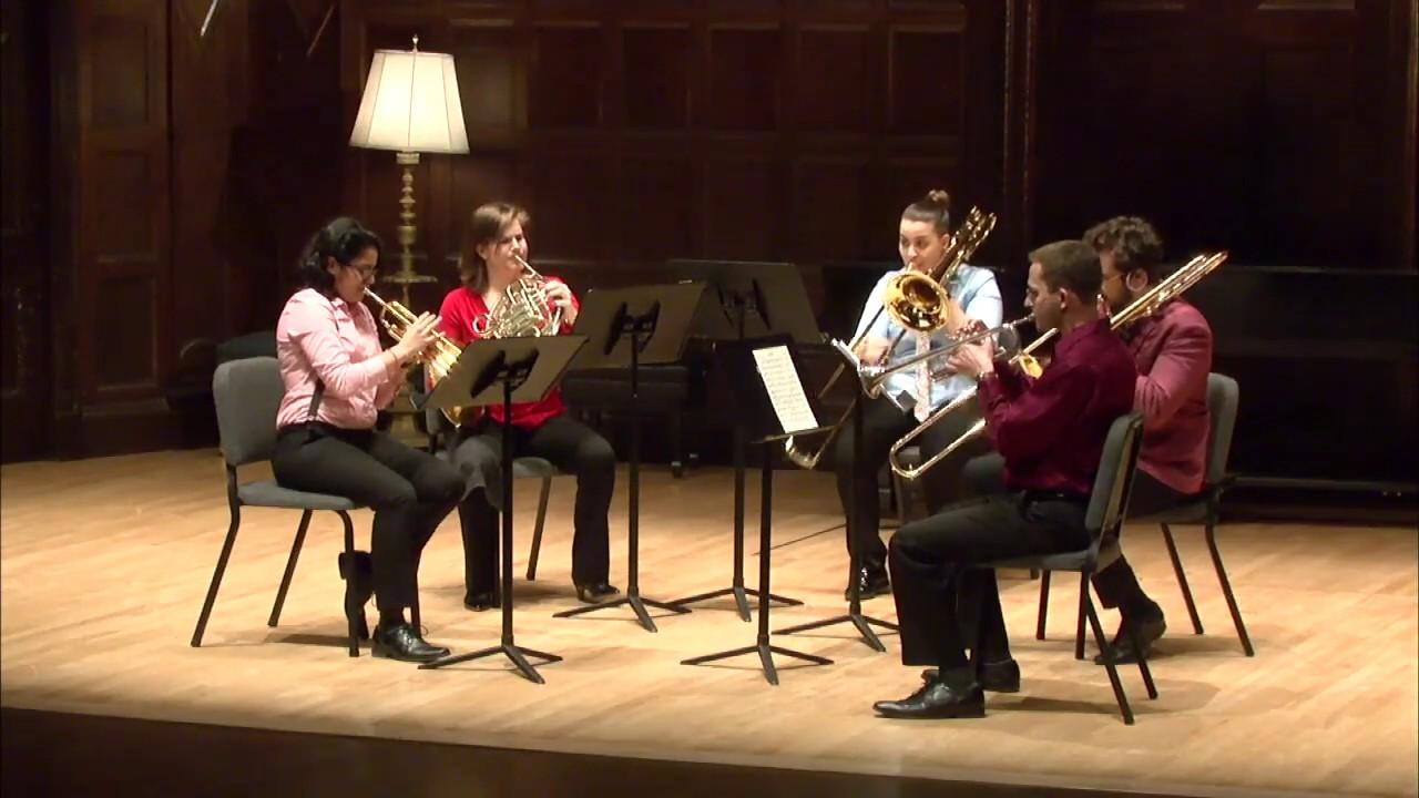 Brass Quintet No.1 in B-Flat Minor, Op. 5 Movement 1, Victor Ewald, Lixo Brass