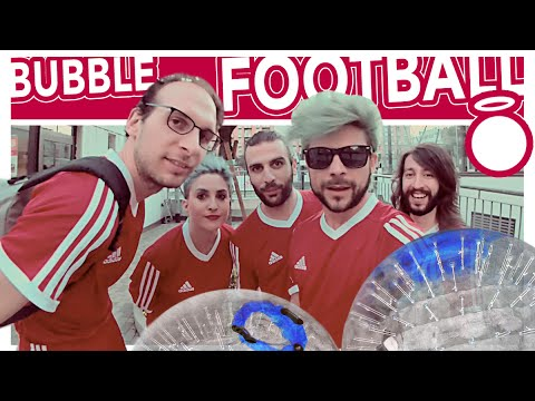 BUBBLE FOOTBALL CHALLENGE  - THE DOPES & Scherzi di Coppia