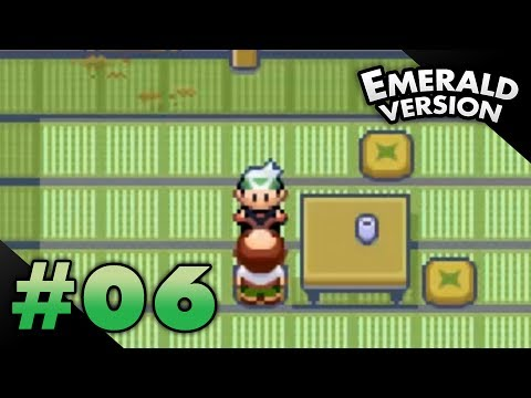 Let's Play Pokemon: Emerald - Part 6 - Trick House