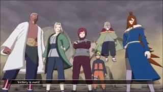 Naruto Shippuden UNS3: 5 Kage VS Madara Uchiha