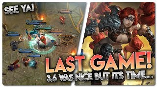 LAST GAME BOIS AND GIRLS!! Vainglory [5v5] Ranked - Rona |WP| Jungle Gameplay