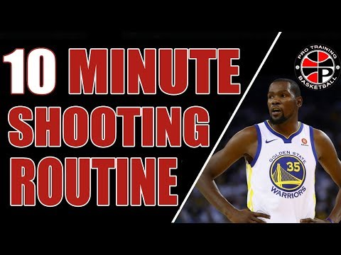10 Minute Shooting Routine | Find Your Touch | Pro Training Basketball