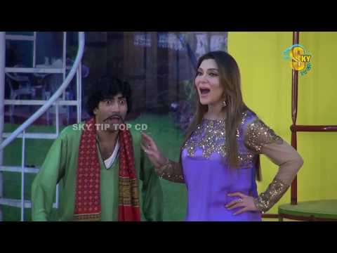 Sajan Abbas and Tariq Teddy New Pakistani Stage Drama Clip 2018 | Pk Mast