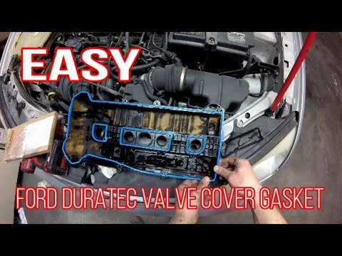 Ford 2 0 2 3 Valve Cover Gasket Replacement Youtube