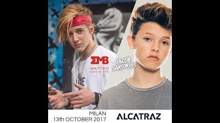 JACOB SARTORIUS ALCATRAZ 13 OTTOBRE 2017 MILANO