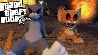 - GTA 5 Mods EVIL TOM AND JERRY MOD GTA 5 Mods Gameplay