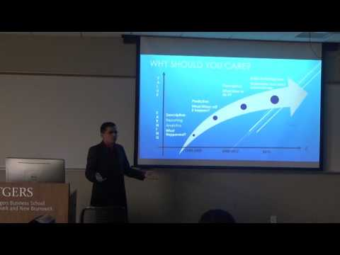 1st Guest Lecture @ Rutgers Business School - Descriptive Analytics using Traditional Technologies