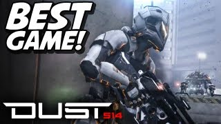 ◢DUST 514 Gameplay - Epic Battle - PS3