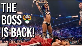 WWE SMACKDOWN 7/30/21 REVIEW; SASHA BANKS ATTACKS BIANCA BELAIR; VINCE MCMAHON VERBALLY JABS AEW