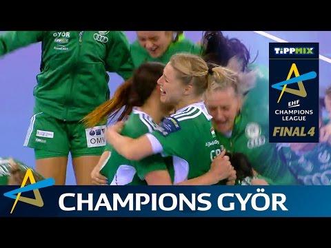 ¡Györ campeón de la EHFCL!