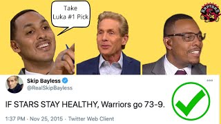 Most HATED NBA analysts being RIGHT for 8 minutes straight(Ryan Hollins, Skip Bayless, Paul Pierce)