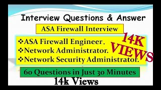 ASA Cisco Firewall Interview Questions & Answer