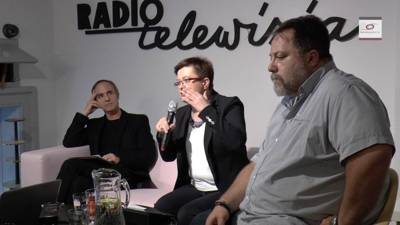 O świeckim państwie. Katarzyna Lubnauer, Stanisław Obirek i Marcin Celiński