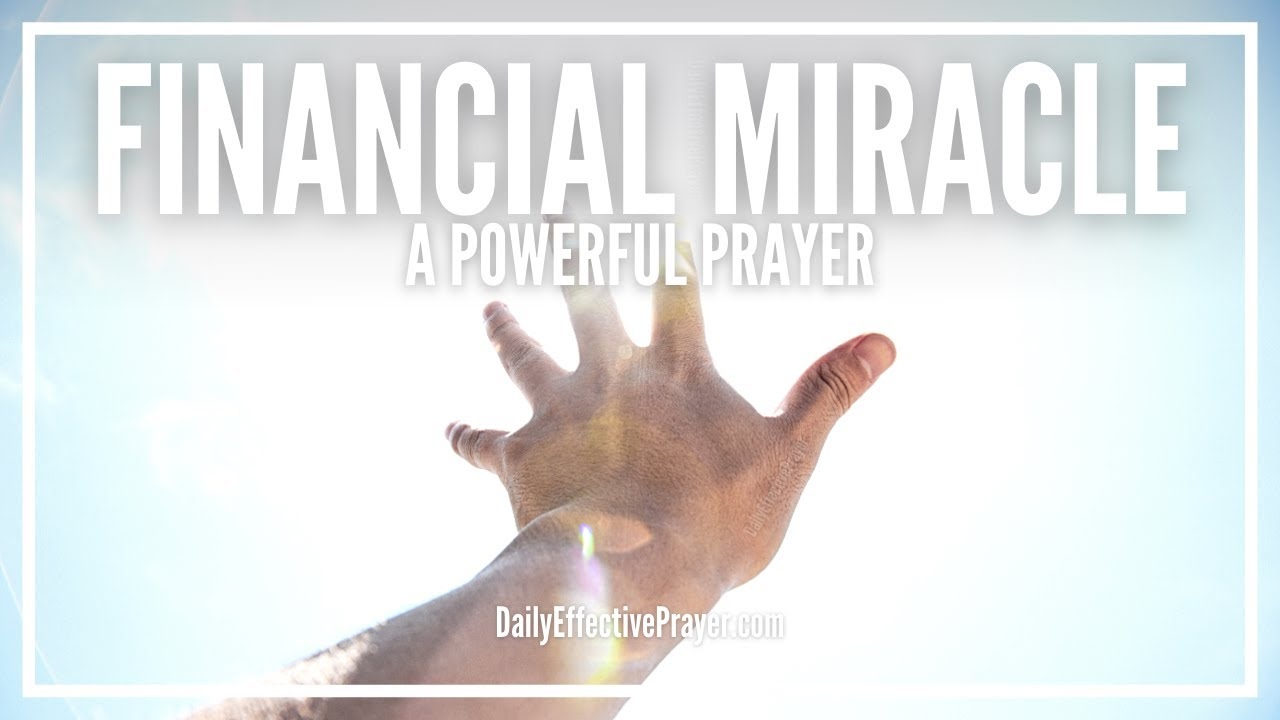 Prayer For Immediate Financial Help | Miracle Prayers For Financial Help