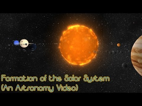 Formation of the Solar System (An Astronomy Video)