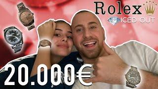 Wir kaufen 20.000€ ROLEX Uhren bei Marc Gebauer