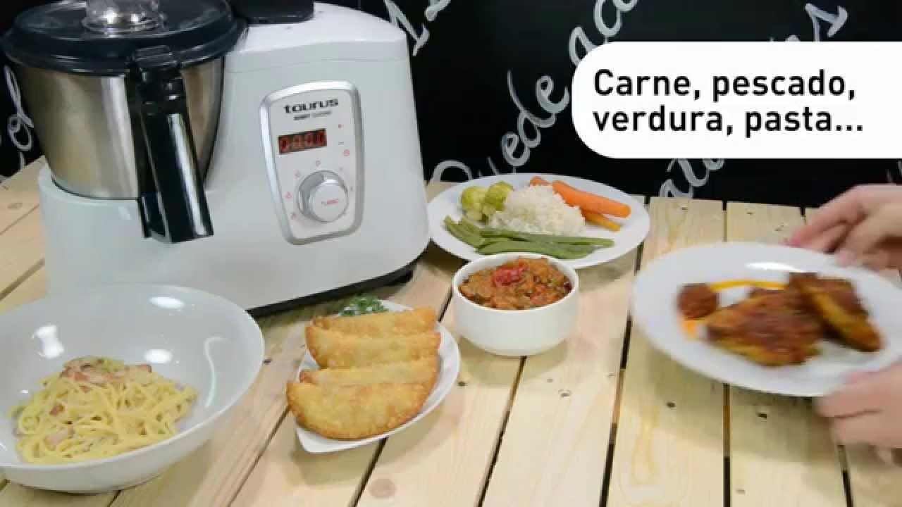 Robot cuisine el robot de cocina multifunci n de taurus for Robots de cocina opiniones