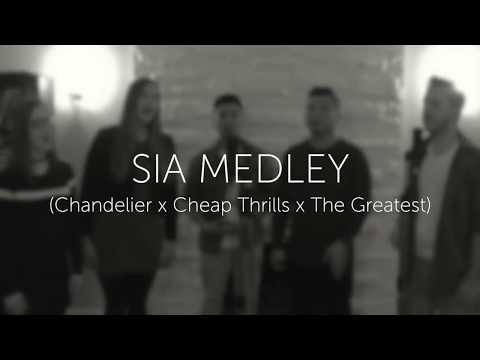 Sia Medley (Chandelier x Cheap Thrills x The Greatest) - Fifth Street acapella cover