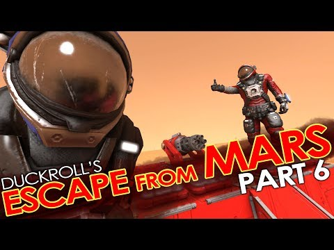 Space Engineers - ESCAPE FROM MARS #6 - Cheeki (Hardcore' Roleplay Mission/Scenario)