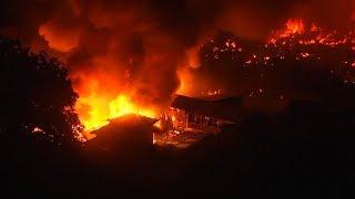 Massive Bangladesh slum fire leaves 10,000 people homeless