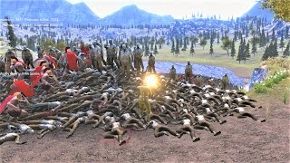 1 US Marine & 300 Spartans vs 30000 Zombies Ultimate Epic Battle Simulator