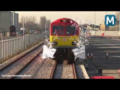 First direct freight train from UK to China