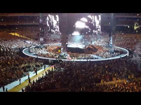 Hello, Adele - Opening song Australia Tour Gabba Brisbane