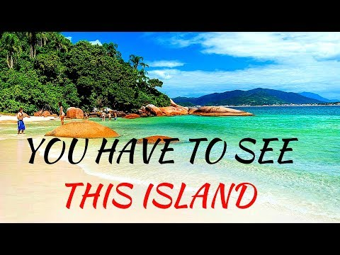 Beaches & Islands of PARADISE (Florianopolis, Brazil) Drone 4K! Gastronomy Cuisine