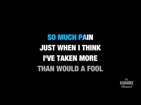 "Fallin' (Radio Version) in the Style of ""Alicia Keys"" karaoke video with lyrics (no lead vocal)"