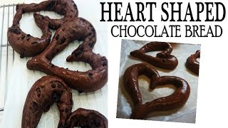 Heart Shaped Chocolate Bread