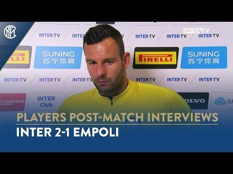 INTER 2-1 EMPOLI | SAMIR HANDANOVIC INTERVIEW: 'We had to suffer but winning was what mattered'