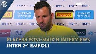 INTER 2-1 EMPOLI | SAMIR HANDANOVIC INTERVIEW: