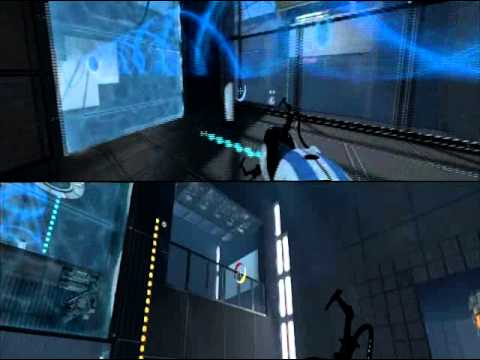 Portal 2 koop splitscreen pc