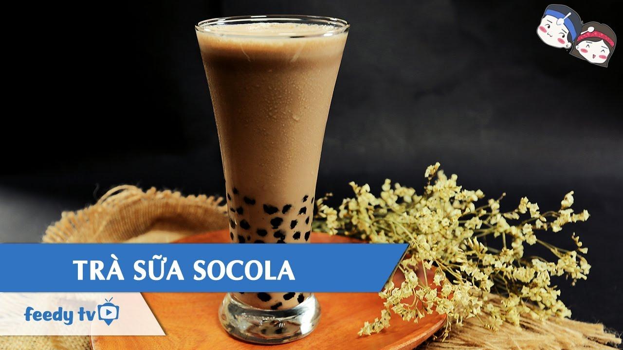 Hướng dẫn cách làm Trà sữa socola với #Feedy