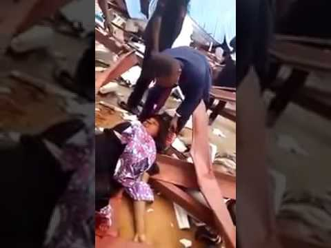 fits image Church Building In Uyo  nigeria church collapse 11 12 2016