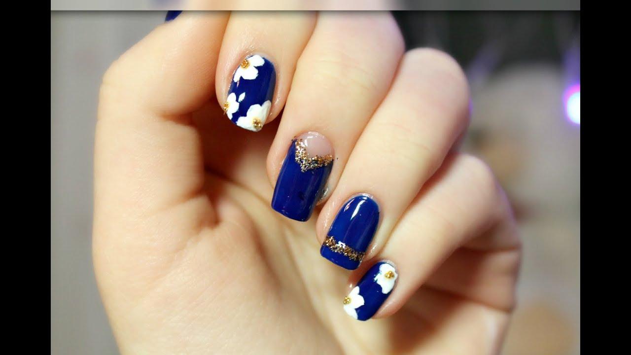 "Nail Art Design ""Blue Mood"""