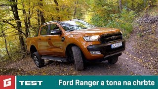Ford Ranger Wildtrak 3,2 6AT - TEST - Pick up 4x4 - GARAZ.TV