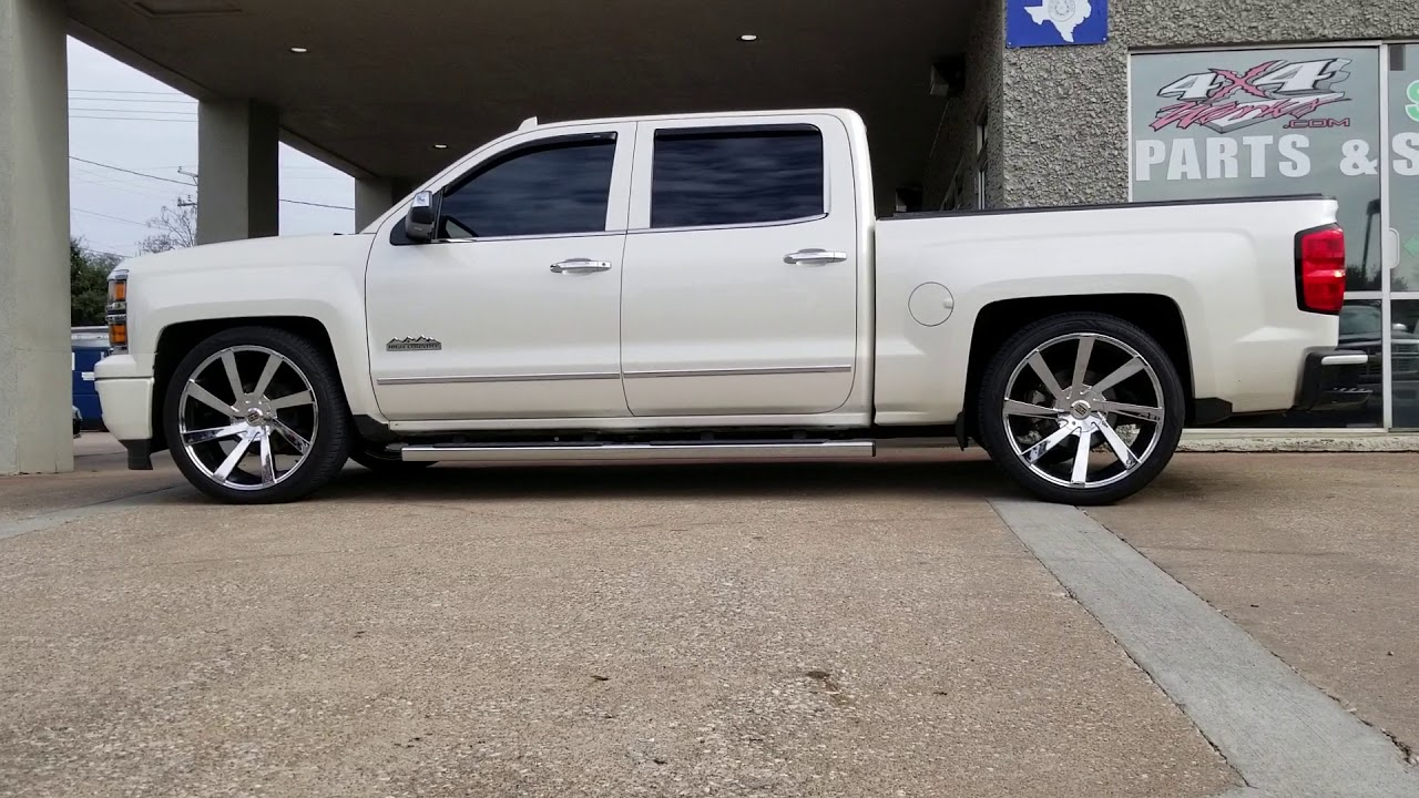 2015 Chevy High Country 2/4 Drop Lowering Kit 4x4works.com ...