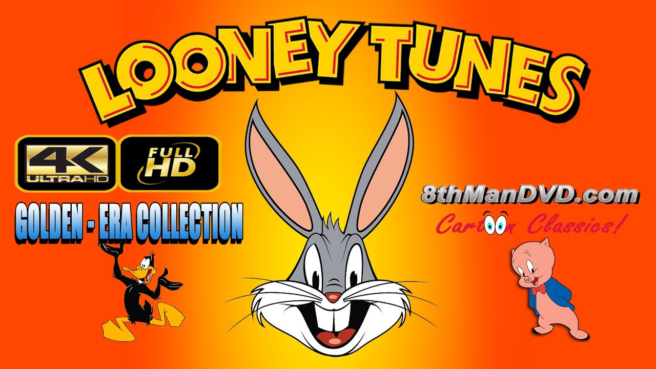 LOONEY TUNES (4 Hours Collection):  Daffy Duck, Porky Pig and more! (Ultra HD 4K)