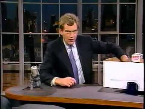 11-02-1988 Letterman John Chancellor Stupid Pet Tricks