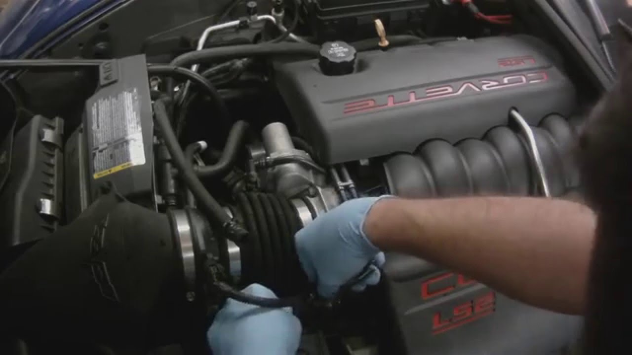 Corvette C6 Coolant Return Hose T Connector Failure  YouTube