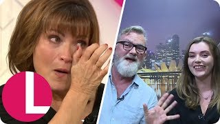 Daughter Rosie and Little Brother Graham Surprise Tearful Lorraine From Singapore | Lorraine